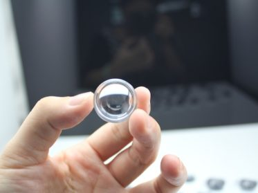 PMMA (acrylic) lens