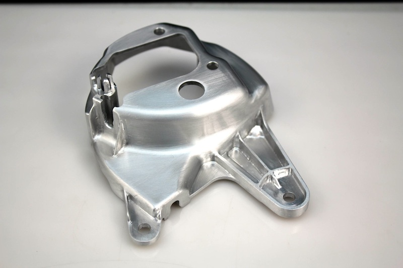 Aluminium prototype – CNC machined