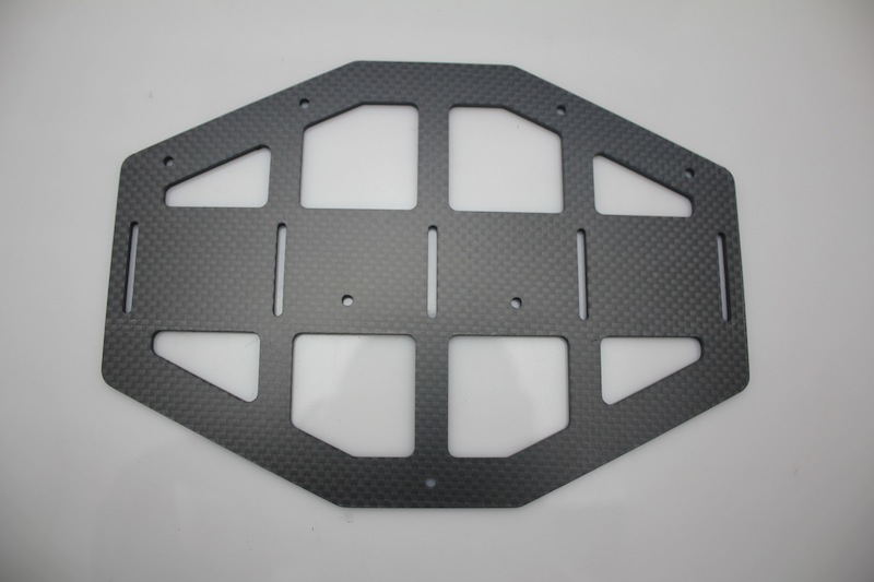 Industrial drone – CNC machined carbon fibre